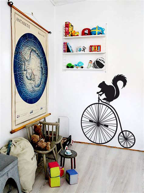 mr wall stickers mr squirrel wall sticker vinylize wall deco