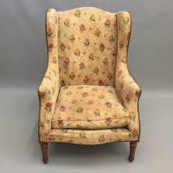 high back wing armchairs high back french wing armchair antiques atlas