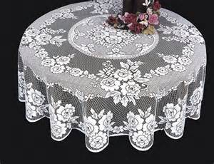 Country Kitchen Placemats - victorian rose 72 round tablecloth heritage lace vr 7200e vr 7200w lace curtain store