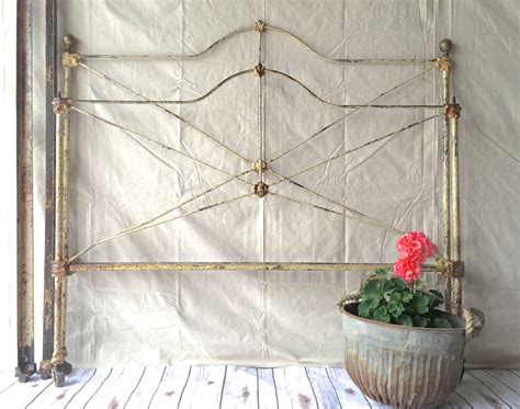 vintage iron bed frames antique iron bed frame by silosprings on etsy