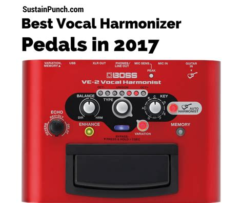 best harmonizer pedal vocal harmonizer pedals best vocal harmony pedal 2018