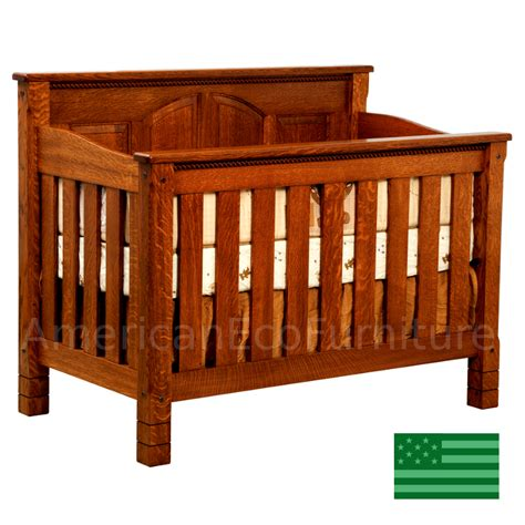 Usa Baby Cribs Convertible Baby Crib Made In Usa Solid Wood American Eco Furniture