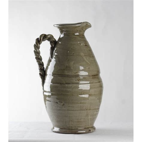 Grey Vase by Zentique Grey Vase