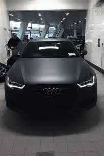 matte black there is something cool with a car