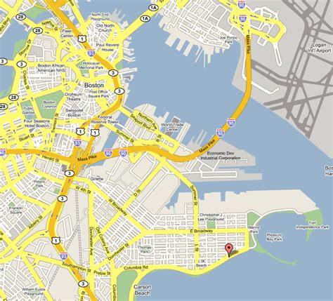 map of boston ma boston boats
