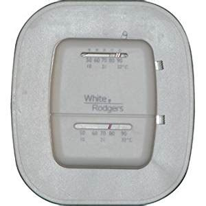 white rodgers 1c20 102 single stage low voltage thermostat 24v heat only programmable