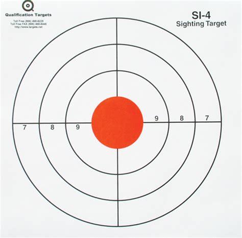 printable sniper training targets sniper targets rifle targets sighting targets