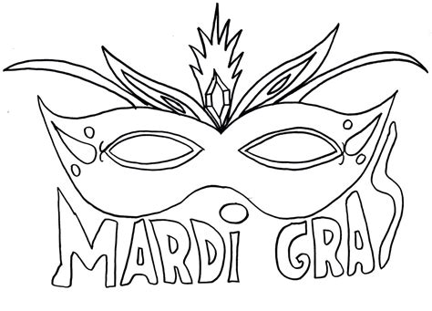 celebrate mardi gras with a free coloring page angry masks to color az coloring pages