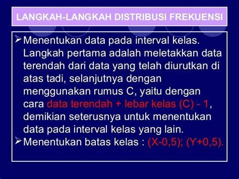 membuat batas atas dan batas bawah distribusi frekuensi 2 penyajian data dan distribusi frekuensi