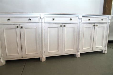large buffet server large white buffet server farmhouse buffets and