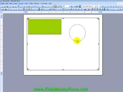 create kids play money templates using word part 1 youtube