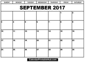 calendar template pdf september 2017 calendar pdf monthly calendar template