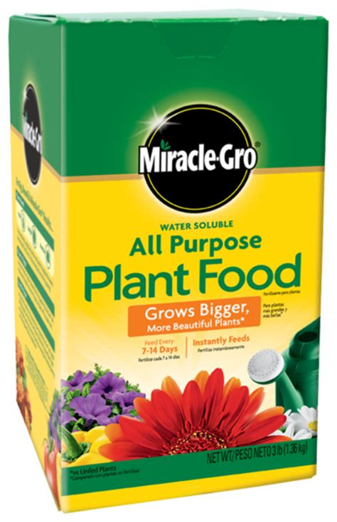 all flower food miracle gro water soluble all purpose plant food plant