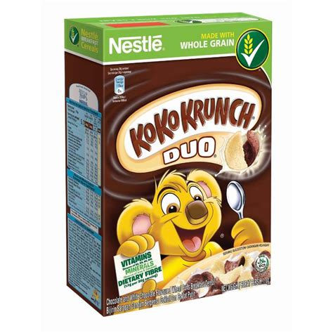 Koko Krunch Duo 330 Gram nestle koko krunch duo cereal large 330g lazada malaysia