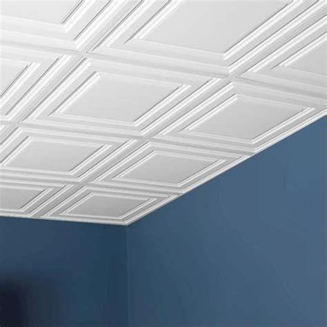 2 X 2 Ceiling Tile by Genesis Designer 2 X 2 Pvc Icon Relief Lay In Ceiling