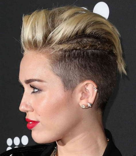 picturs of miley cyrus pink haircut front back and sides 20 best miley cyrus hairstyles and haircuts yve style com