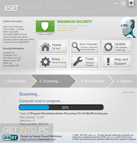 eset nod32 antivirus smart security 32 64 bit free eset smart security 10 free download
