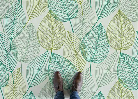 leaf pattern flooring leaf atrafloor