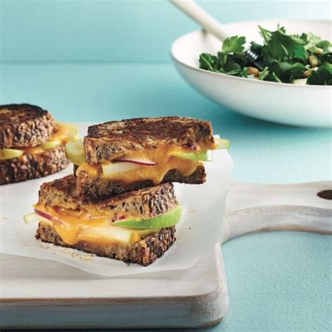 Cooking The Cover Gourmets Grilled Cheese by Gourmet Grilled Cheese Sandwich With Parsley Salad