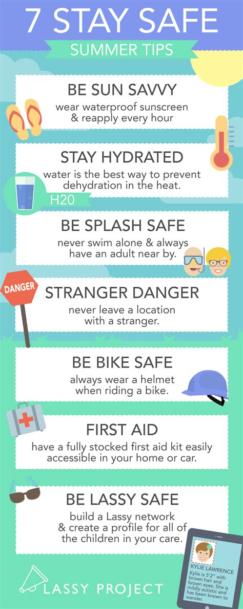 7 Tips On Staying Safe On by 7 Stay Safe Summer Tips Keep Safe Summer