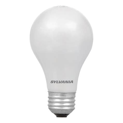 Sylvania Light Fixtures Shop Sylvania 4 Pack 28 Watt Dimmable Soft White A19 Halogen Light Fixture Light Bulbs At Lowes
