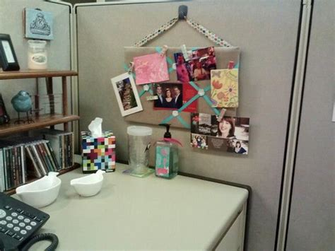 diy decorations office 20 creative diy cubicle decorating ideas hative