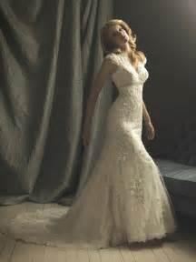 ivory lace mermaid trumpet formal vintage wedding dresses