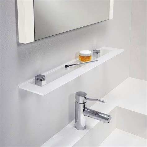 frosted glass shelf bathroom glass shelf for bathroom polished chrome with frosted glass 600mm bathroom shelf