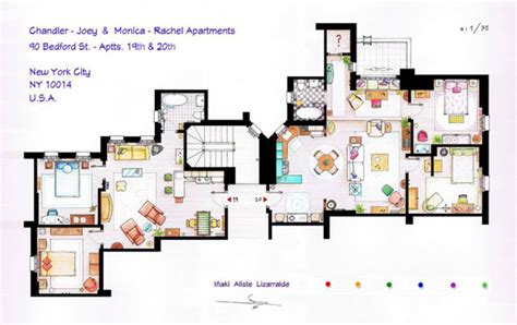 seinfeld apartment floor plan seinfeld apartment friends apartment sex city apt