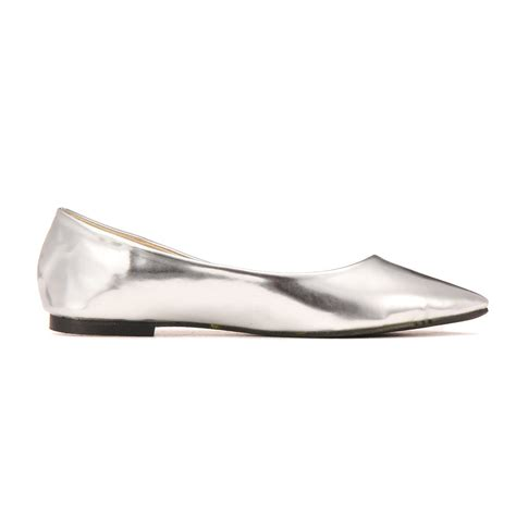shiny flat shoes shiny pointed flat shoes us 19 95 yoins
