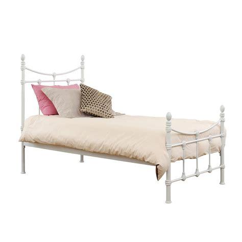 Iron Bed Frame Nz Regent Single Bed White