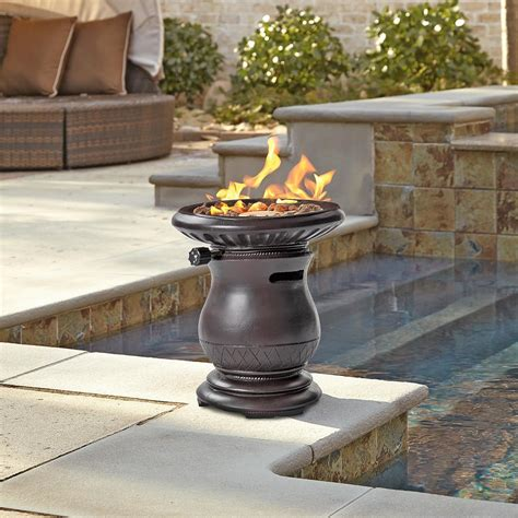 Gas Firepit Sumner Gas Pit 657955 Pits Patio Heaters At Sportsman S Guide