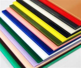 colored acrylic sheets translucent and opaque colored cast acrylic chemcast