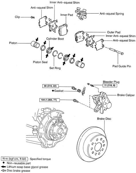 automotive repair manual 1998 lexus es regenerative braking service manual 1998 lexus es rear drum brake removal service manual how to remove back
