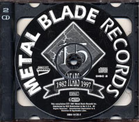 Metal Blade Records various artists metal blade records inc 15th