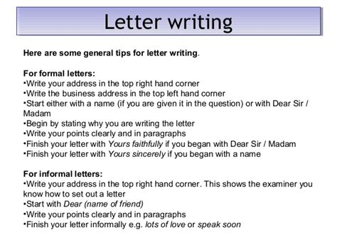 Business Letter Format Gcse Wjec Gcse Prep Higher Paper Unit 2