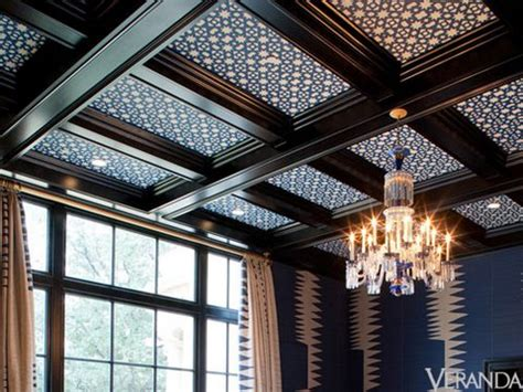 coffered ceiling paint ideas well advised kirsten fitzgibbons and kelli ford