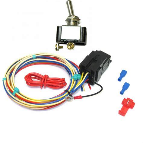temp switch for electric fan electric fan temperature switch w ride