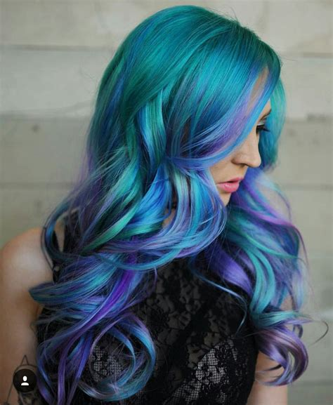 mermaid color hair 17 best ideas about mermaid hair colors on