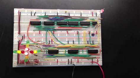 ece 150 digital logic design traffic light project