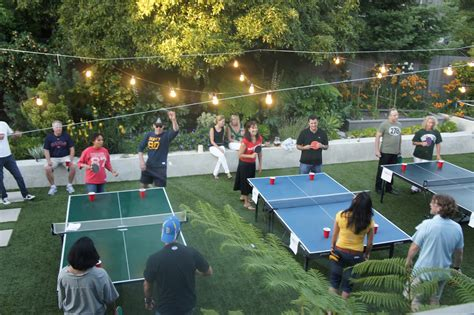 backyard beer pong about last weekend beer pong party