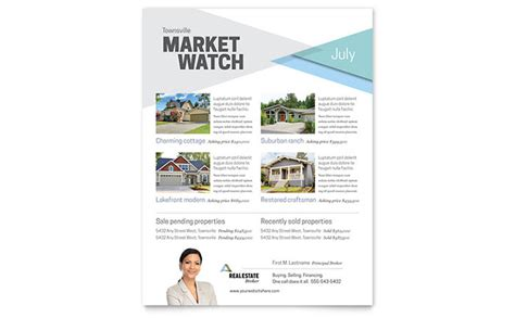 Realtor Flyers Templates by Realtor Flyer Template Design