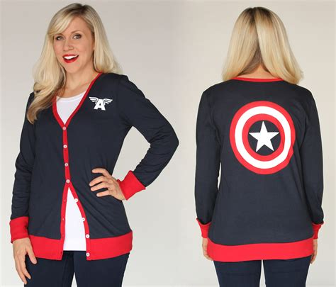 Vest Hoodie Jaket Rompi Team Cap Captain America Civil War fangirls assemble universe and marvel team up to launch the ultimate fangirl fashion
