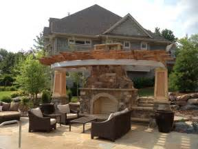 Backyard Grill Gazebo Edina Mn Outdoor Fireplaces