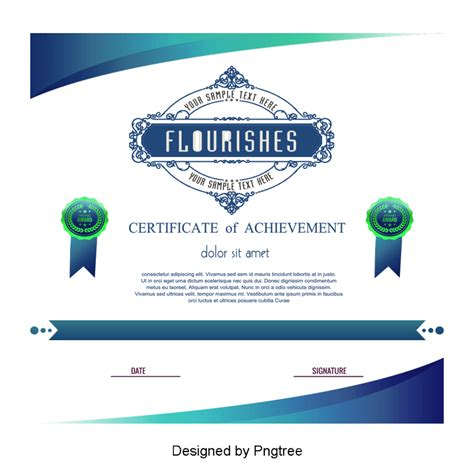 update certificates that use certificate templates green certificate template vector png graduation png