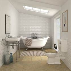 keswick traditional roll top bath suite at victorian roll top bath and large glass shower cabinet in modern