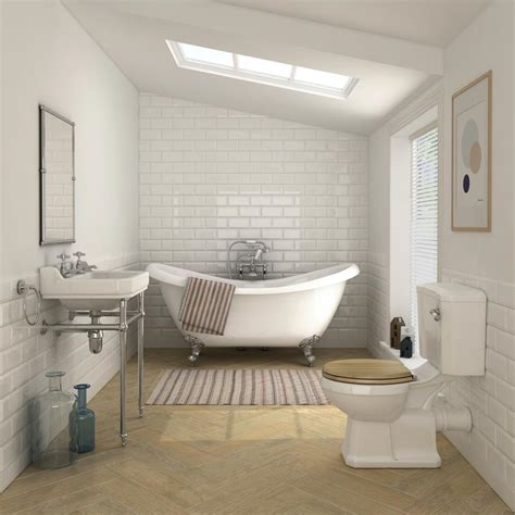 keswick traditional roll top bath suite  victorian