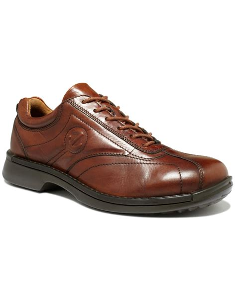 ecco shoes ecco neoflexor lace shoes in brown for mink lyst