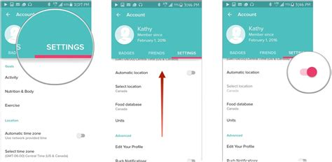 how to change your location on android how to manage time zones and locations in fitbit for android android central