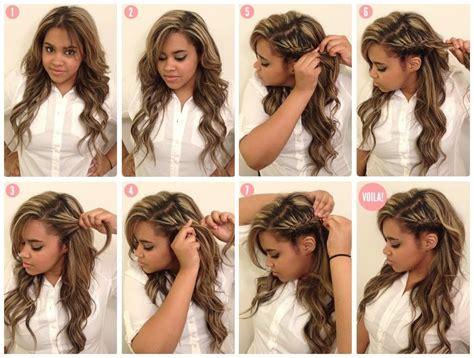 cheveux coiffure coiffure cheveux longs coiffure simple et facile part 2